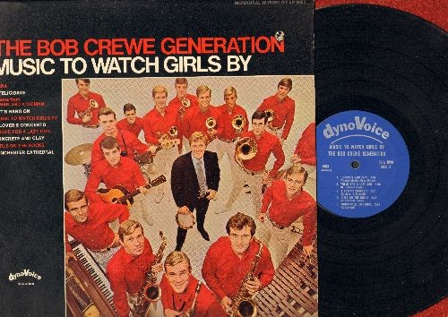 Crewe, Bob Generation - Music To Watch Girls By: A Felicidade, Let's Hang On, Winchester Cathedral, Theme For A Lazy Girl, Theme From A Man And A Woman (Vinyl LP record, RARE MONO Pressing!) (bb upper right corner cover) - EX8/EX8 - LP Records