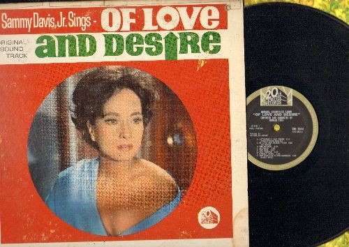 Davis, Sammy Jr. - Of Love And Desire - Original Motion Picture Sound Track (Vinyl MONO LP record) - NM9/VG6 - LP Records