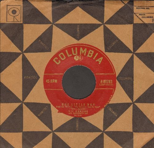 Damone, Vic - One Little Boy/When My Love Smiles (with vintage Columbia company sleeve) - NM9/ - 45 rpm Records