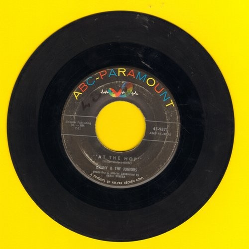 Danny & The Juniors - At The Hop/Sometimes (When I'm All Alone) (wol) - VG7/ - 45 rpm Records