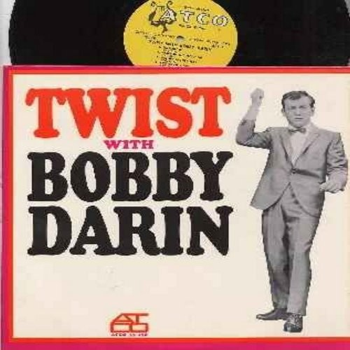 Darin, Bobby - Twist With Bobby Darin:Queen Of The Hop, Pity Miss Kitty, Irresistible You, I Ain't Sharin' Sharon, You Must Have Been A Beautiful Baby, Multiplication, Bullmoose (Vinyl MONO LP record, yellow harp label early issue) - VG7/EX8 - LP Records