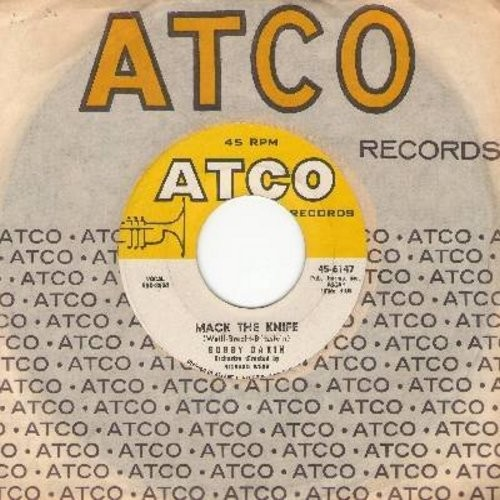 Darin, Bobby - Mack The Knife/Was There A Call For Me (with Atco company sleeve) - VG7/ - 45 rpm Records