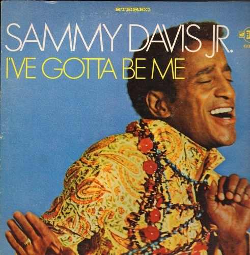 Davis, Sammy Jr. - I've Gotta Be Me: My Personal Property, If My Friends Could See Me Now, I've Got You Under My Skin (vinyl STEREO LP record) - NM9/VG7 - LP Records