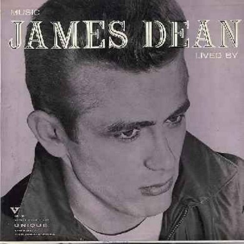 Dean, James - Music James Dean Lived By: The Story Of James Dean, East Of Ededn, Misunderstood, Dream Lover, Giant, Rebel Without A Cause (Vinyl MONO LP record, NICE condition!) - NM9/NM9 - LP Records