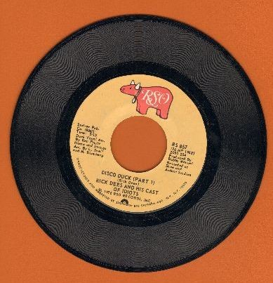 Dees, Rick - Disco Duck  (Parts 1+2) - VG7/ - 45 rpm Records