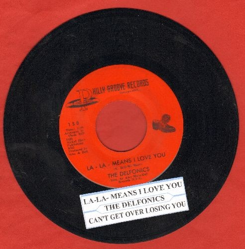 Delfonics - La-La-Means I love You/Can't Get Over Losing You (with juke box label) - NM9/ - 45 rpm Records