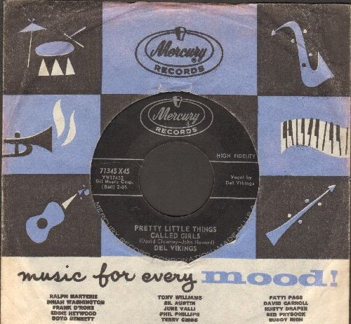 Dell Vikings - You Cheated/Pretty Little Things Called Girls (with Mercury company sleeve) - EX8/ - 45 rpm Records