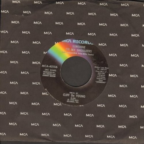 De Young, Cliff - Sunshine On My Shoulders (Makes Me Happy)/My Sweet Lady - EX8/ - 45 rpm Records