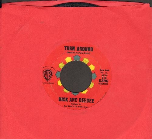 Dick & Dee Dee - Turn Around/Don't Leave Me (with juke box label) - VG7/ - 45 rpm Records