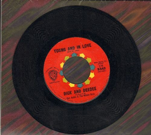 Dick & Dee Dee - Young And In Love/Say To Me  - VG7/ - 45 rpm Records