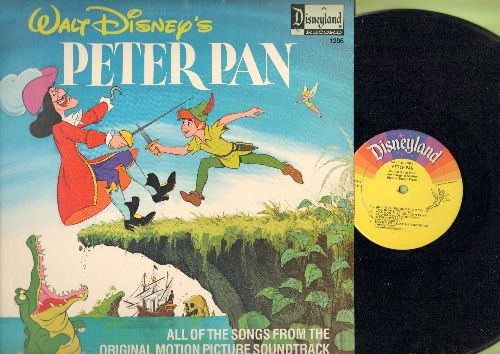Disney - Peter Pan - All Of The Songs From The Original Motion Picture Soundtrack (Vinyl LP record) - NM9/EX8 - LP Records
