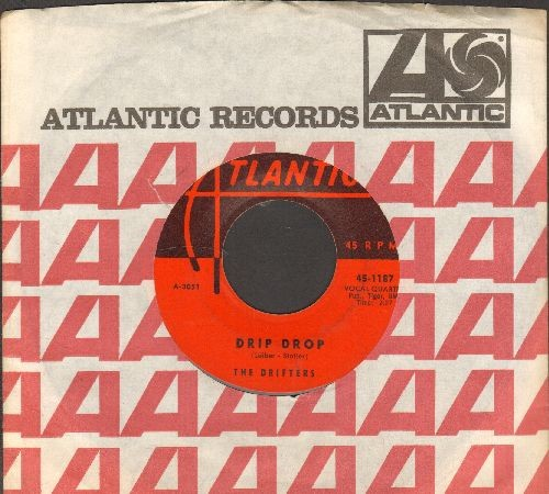 Drifters - Drip Drop/Moonlight Bay (with vintage Atlantic company sleeve) - EX8/ - 45 rpm Records