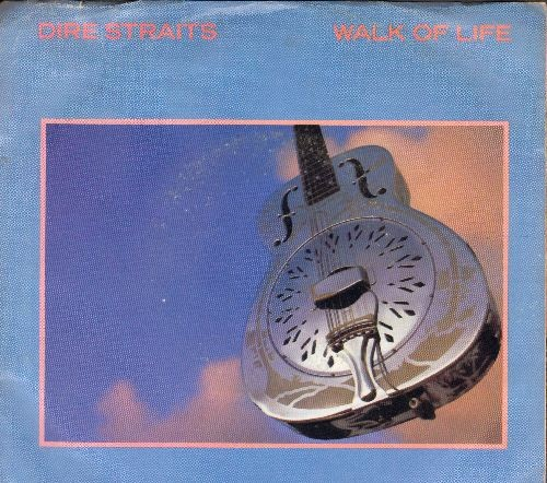 Dire Straits - Walk Of Life/One World (with picture sleeve) - M10/VG7 - 45 rpm Records