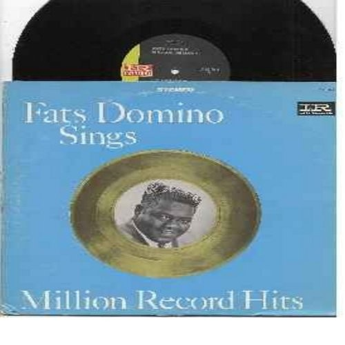 Domino, Fats - Million Record Hits: Be My Guest, I Want To Walk You Home, I'm Ready, Margie, I Want You To Know, You Said You Love Me (Vinyl STEREO LP record, black/green label) - NM9/EX8 - LP Records