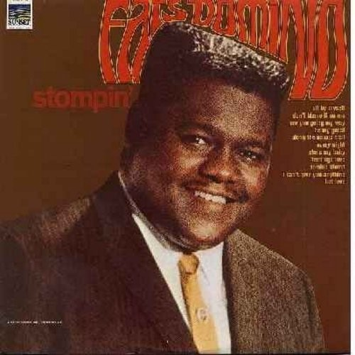 Domino, Fats - Stompin': Are You Going My Way, Be My Guest, Teen Age Love, I Can't Give You Anything But Love (Vinyl STEREO LP record) - EX8/EX8 - LP Records