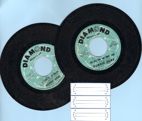 Dove, Ronnie - 2 for 1 Special: One Kiss For Old Times Sake/A Little Bit Of Heaven (2 vintage first issue 45rpm records for the price of 1!) - EX8/ - 45 rpm Records