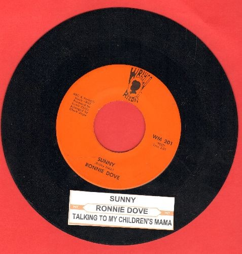 Dove, Ronnie - Sunny/Talking To My Children's Mama (with juke box label) - NM9/ - 45 rpm Records