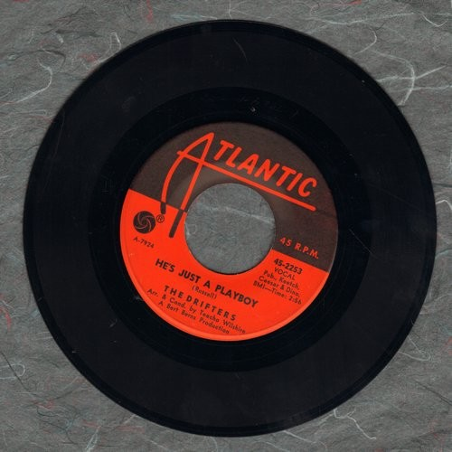 Drifters - He's Just A Playboy/I've Got Sand In My Shoes  - EX8/ - 45 rpm Records