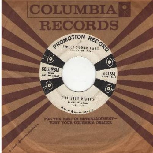 Easy Riders - Sweet Sugar Cane/Wanderin' Blues (DJ advance pressing with vintage Columbia company sleeve) - EX8/ - 45 rpm Records