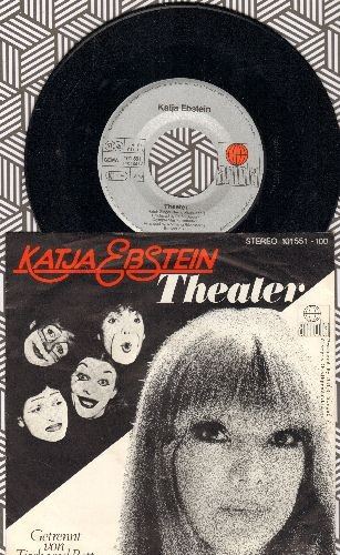 Ebstein, Katja - Theater  (Germany°s Entry To Grand Prix D°Eurovision 1981!) (German Pressing with picture sleeve) - NM9/EX8 - 45 rpm Records