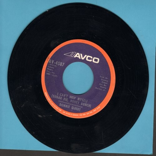 Elbert, Donnie - I Can't Help Myself (Sugar Pie, Honey Bunch)/Love Is Here And Now You're Gone - EX8/ - 45 rpm Records