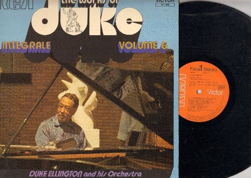 Ellington, Duke & His Orchestra - The Works Of Duke Vol. 6: Sam And Delilah, Mood Infigo, Echoes Of The Jungle, Blue Again (vinyl LP record, 1972 French Pressing, shrink wrap) - NM9/EX8 - LP Records
