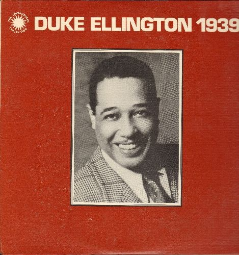 Ellington, Duke - Duke Ellington 1939 - Lady In Blue, Cotton Club Stomp, Sophisticated Lady (2 vinyl LP records in gatefold cover, 1977 re-issue of vintage Jazz recordings) - NM9/NM9 - LP Records