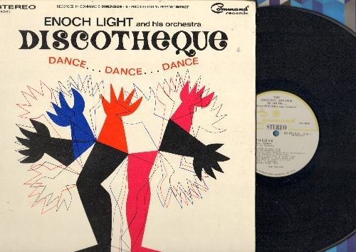 Light, Enough & His Orchestra - Discotheque - Dance…Dance…Dance: Dream  Lover, C'Mon And Swim, I Want To Hold Your Hand, If I Had A Hammer (Vinyl