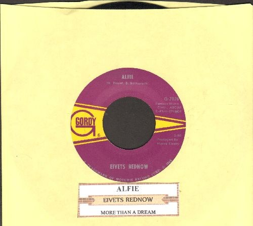 Rednow, Eivets (Stevie Wonder) - Alfie/More Than A Dream (with juke box label) - NM9/ - 45 rpm Records