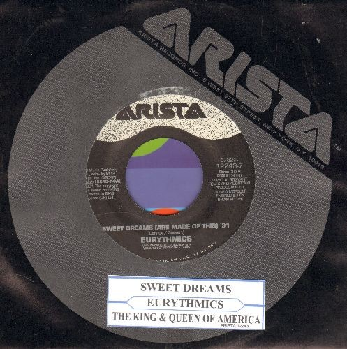 Eurythmics - Sweet Dreams (Are Made Of This) '91/The King & Quuen Of America (with juke box label and Arista company sleeve) - NM9/ - 45 rpm Records