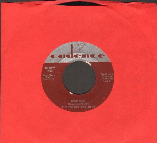 Everly Brothers - Bird Dog/Devoted To You  - EX8/ - 45 rpm Records