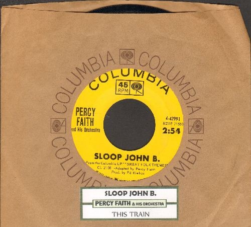 Faith, Percy & His Orchestra - Sloop John B./This Train (with Columbia company sleeve and juke box label) - NM9/ - 45 rpm Records