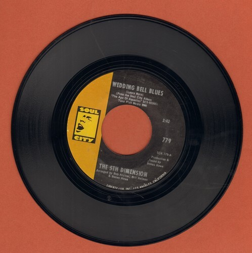 Fifth Dimension - Wedding Bell Blues/Lovin' Stew  - NM9/ - 45 rpm Records