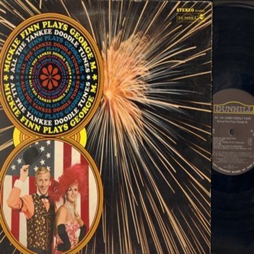 Finn, Mickie - All The Yankee Doodle Tunes - Mickie Finn Plays George M.: You're A Grand Old Flag, Yankee Doodle Boy, Mary's A Grand Old Name,  (Vinyl STEREO LP record, gate-fold cover) - NM9/EX8 - LP Records