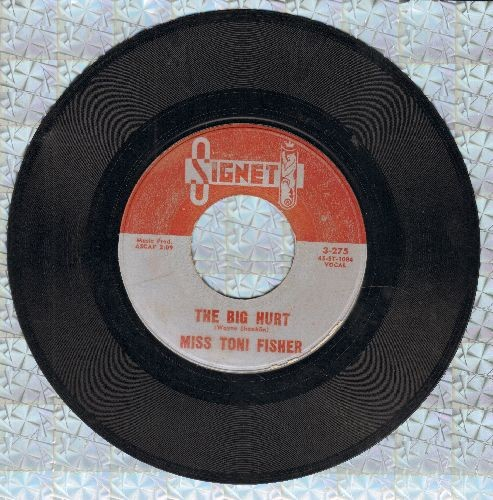 Fisher, Miss Toni - The Big Hurt/Memphis Belle (NICE condition!) - NM9/ - 45 rpm Records