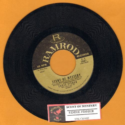 Fisher, Eddie - Scent Of Mystery/The Chase (with juke box label) - NM9/ - 45 rpm Records
