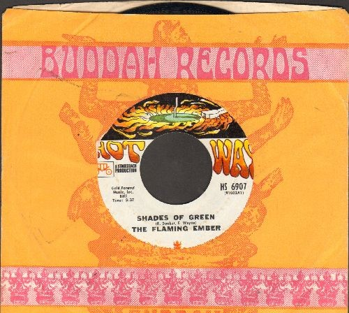 Flaming Ember - Shades Of Green/Don't You Wanna Wanna (DJ advance pressing with company sleeve) - EX8/ - 45 rpm Records