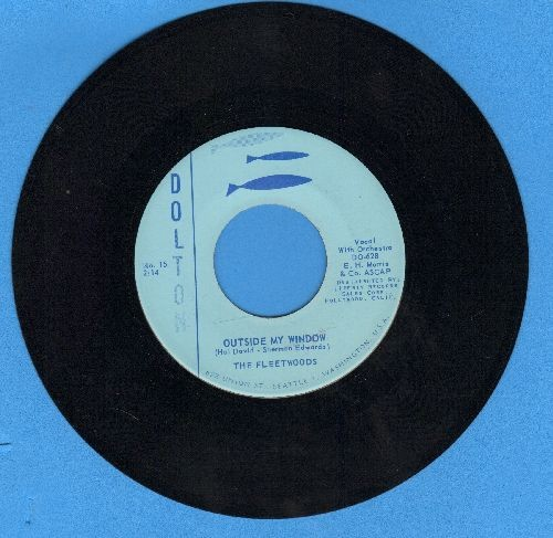 Fleetwoods - Outside My Window/Magic Star - NM9/ - 45 rpm Records