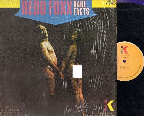 Foxx, Redd - Bare Facts - Hilarious -stag party style- comedy album (vinyl LP record, shrink wrap) - EX8/NM9 - LP Records