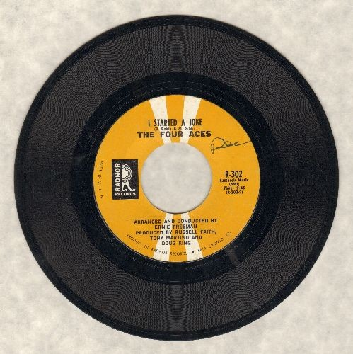 Four Aces - I Started A Joke/Summer Won't Be Summer - EX8/ - 45 rpm Records