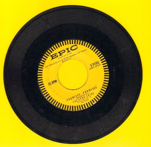 Four Coins - Promises, Promises/That's The Way  - EX8/ - 45 rpm Records