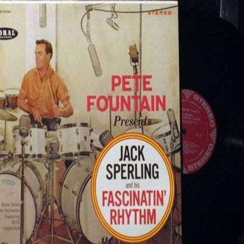 Fountain, Pete - Pete Fountain Presents Jack Sterling & His Fascinatin' Rhythm: Sing Sing Sing (With A Swing), Creole Gumbo, Wire Brush Stomp (Vinyl STEREO LP record, NICE condition!) - NM9/NM9 - LP Records