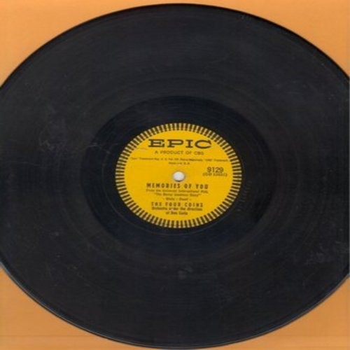 Four Coins - Memories Of You/Tear Down The Fence (10 inch 78rpm record) - EX8/ - 45 rpm Records