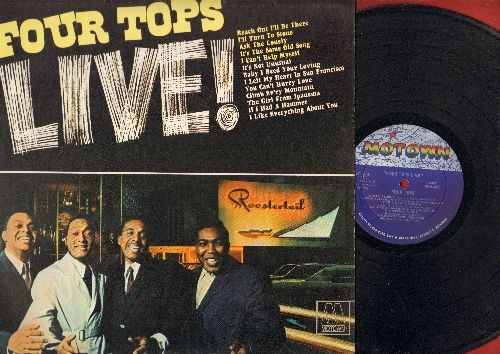 Four Tops - Still Waters Run Deep: It's All In The Game, Elusive Butterfly,  Reflections, Still Water (Love) (Vinyl STEREO LP record) - VG7/EX8 - LP