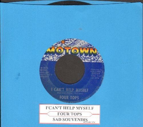 Four Tops - I Can't Help Myself/Sad Souvenirs (with juke box label) - VG7/ - 45 rpm Records