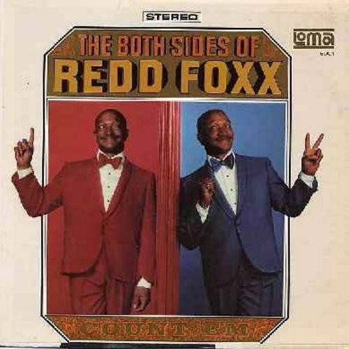 Foxx, Redd - The Both Sides Of: Recorded LIVE…His All-New, Hlarious Hollywood Concert! (Vinyl STEREO LP record) - EX8/NM9 - LP Records