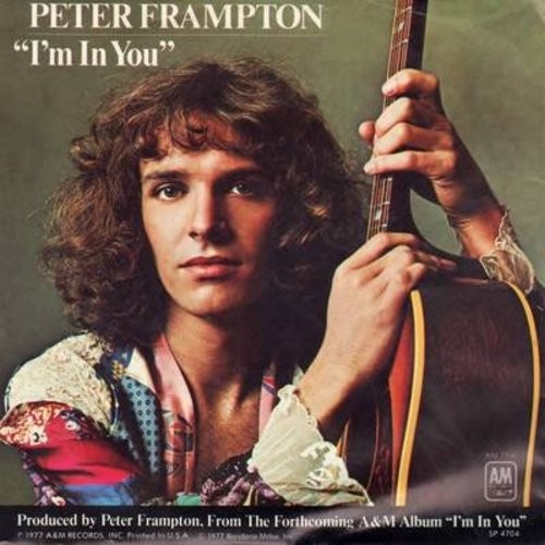Frampton, Peter - I'm In You/St. Thomas (Know How I Feel) (with picture sleeve) - NM9/EX8 - 45 rpm Records