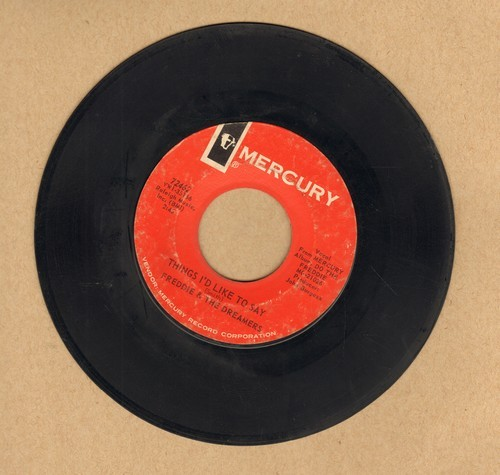 Freddie & The Dreamers - Things I'd Like To Say/A Little You (bb) - VG7/ - 45 rpm Records
