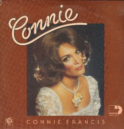 Francis, Connie - Connie: Who's Sorry Now, My Happiness, Where The Boys Are, Vacation, Stupid Cupid, Lipstick On Your Collar (2 vinyl STEREO LP record set, 1975 issue of vintage recordings) - EX8/EX8 - LP Records