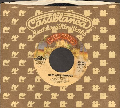 Frehley, Ace - New York Groove/Snow Blind (with Casablanca company sleeve) - EX8/ - 45 rpm Records
